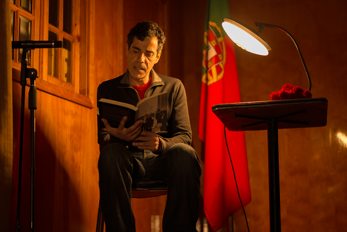 "25 Aprile - Rui Sprager in ""Afirma Pereira"""