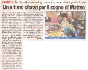 CronacaQui - il sogno di Matteo
