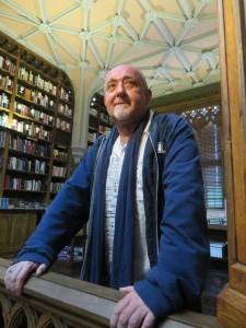 Renzo Sicco nelle sale della libreria