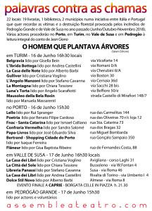 CARTOLINA retro grande - versione portoghese