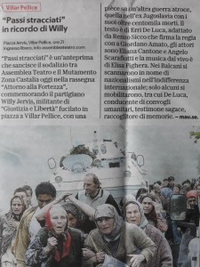 La Repubblica 5 agosto 2018