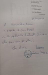 La città di Porte attraverso il suo sindaco Laura Zoggia