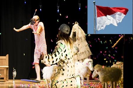 I palloncini volano in Indonesia!