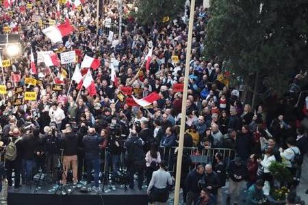 Mobilitazione per la verita' sulla morte della giornalista Daphne Caruana