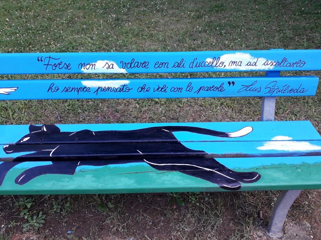 La panchina di Luis-Rivalta-lug2020-2