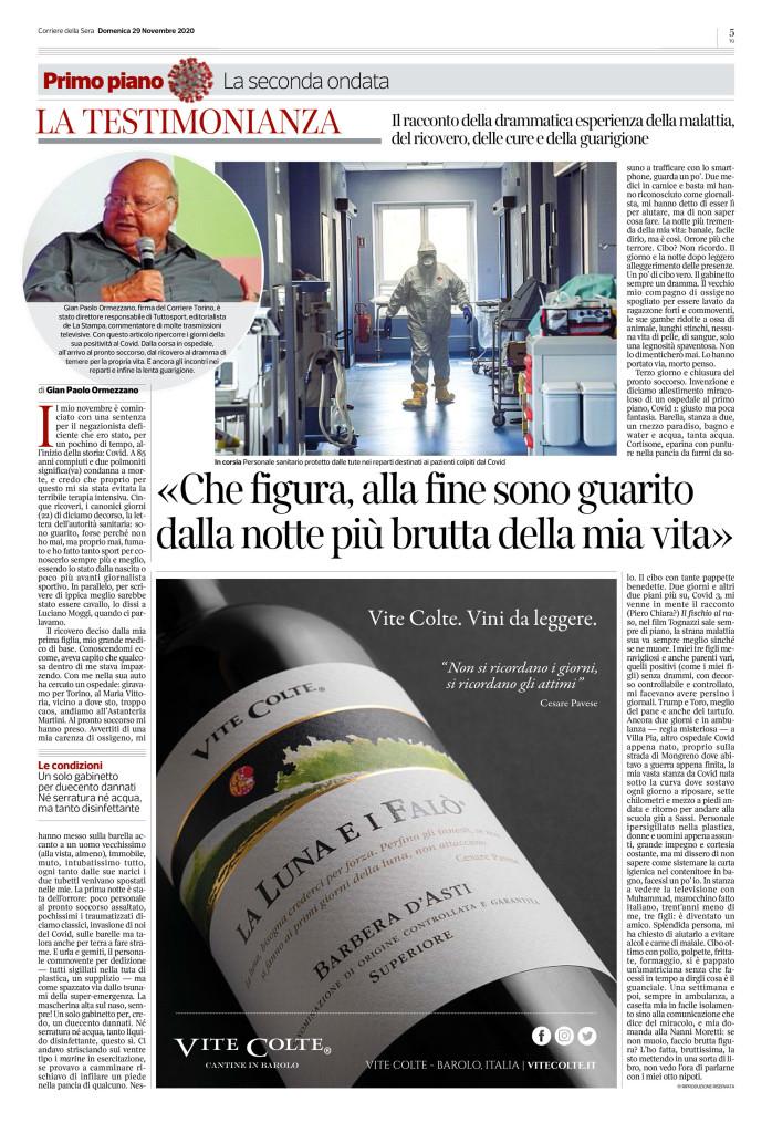Gian Paolo Ormezzano-Covid-19-Corriere-Torino-291120-p5