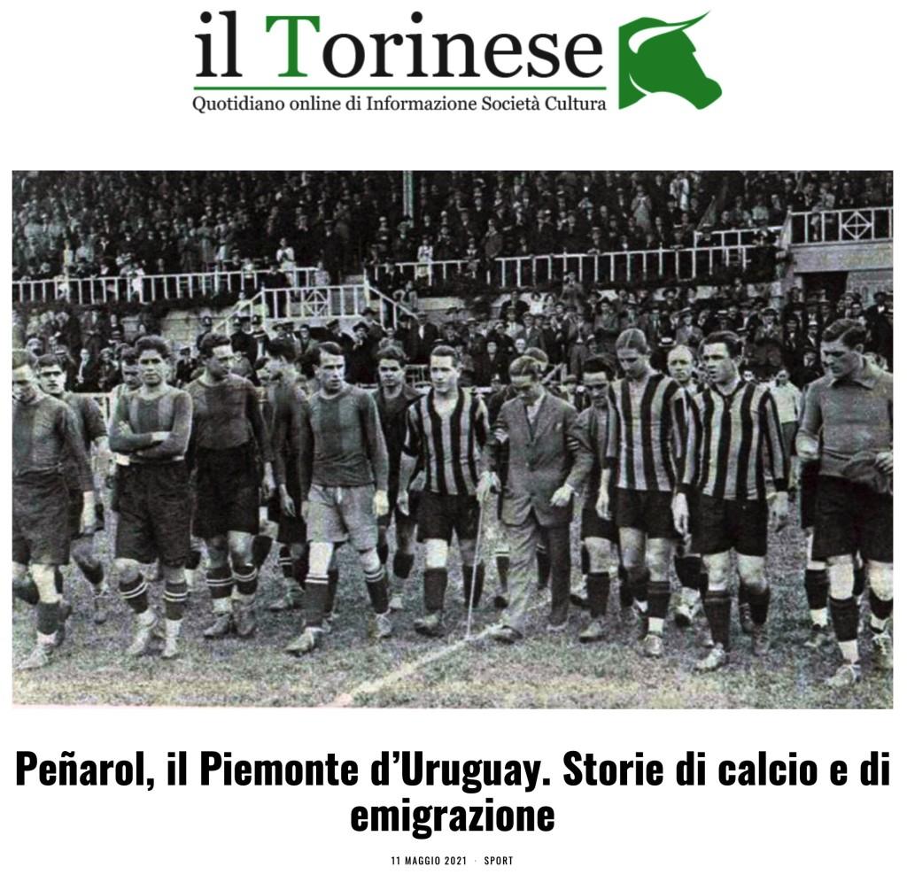 peñarol, il piemonte d'uruguay