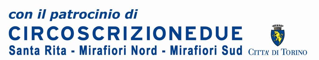 Logo circoscrizione 2 Torino - patrocinio